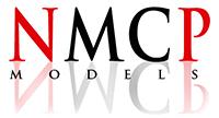 widget LOGOK NMCP MODELS letras white sombra